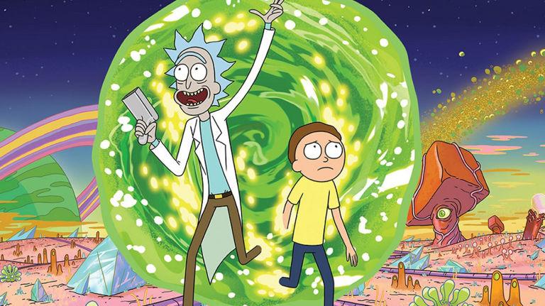 Rick & morty image